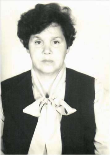 Афоничева Валентина Михайловна  Председатель Садоводческого Товарищества
